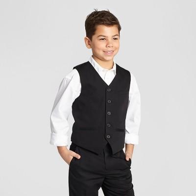 boys vest ny black boysu0027 suit vest - black ejfhvbk