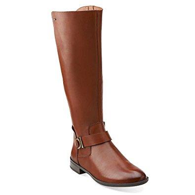 brown riding boots clarks mint treat gtx womens dark brown leather boot 6-medium bbxdfto