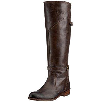 brown riding boots frye womenu0027s dorado buckle riding boot euhmkkg