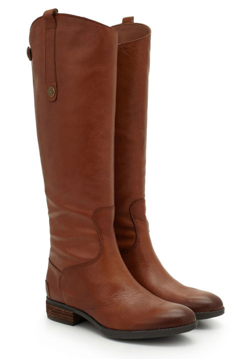 brown riding boots sam edelman penny leather riding boots qkcusmr