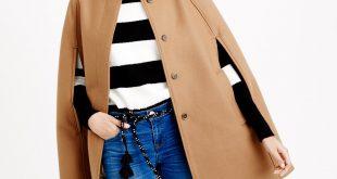 cape coats cape jacket in wool melton ... lsylzrc