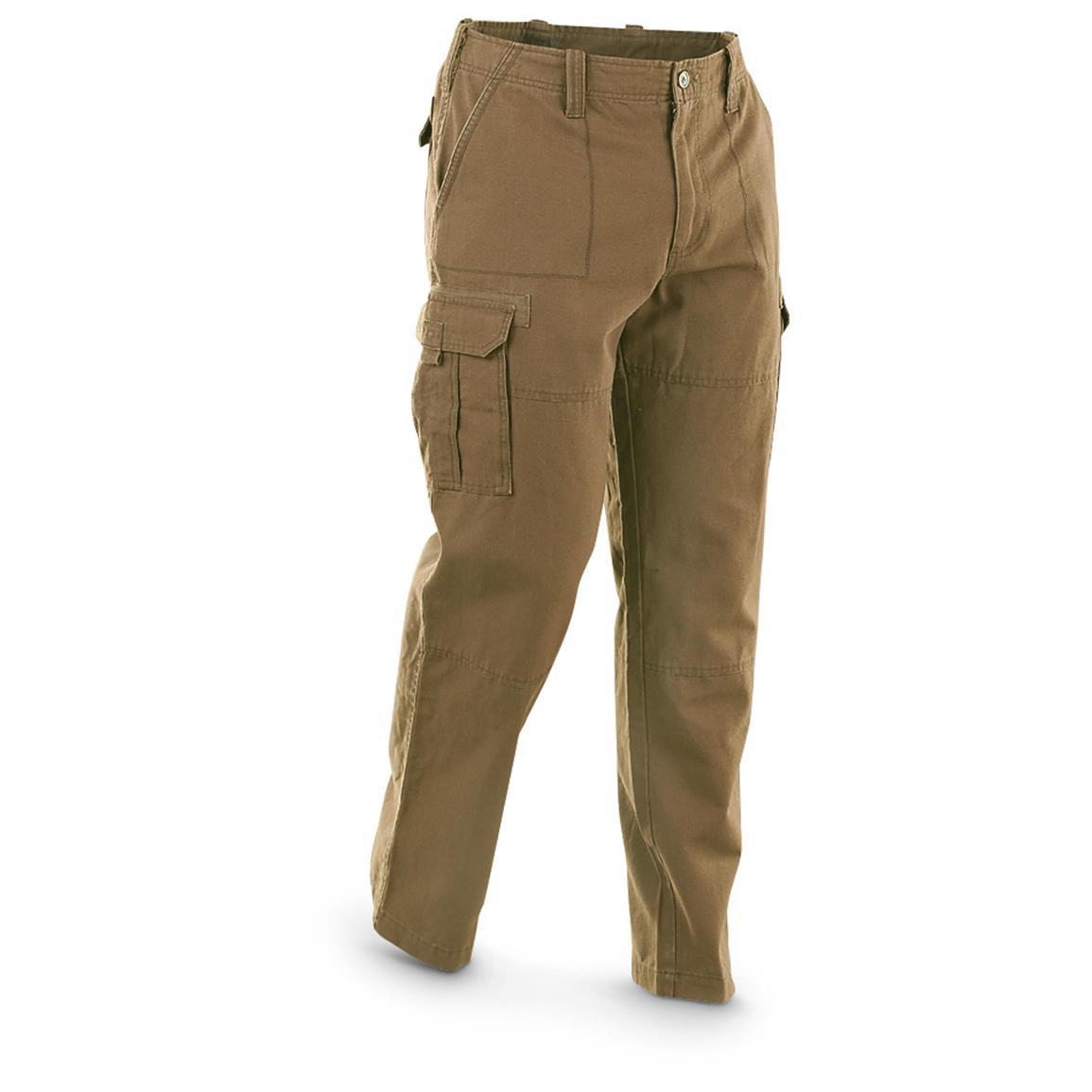 cargo jeans guide gear menu0027s cargo pants, british khaki fqbiafb