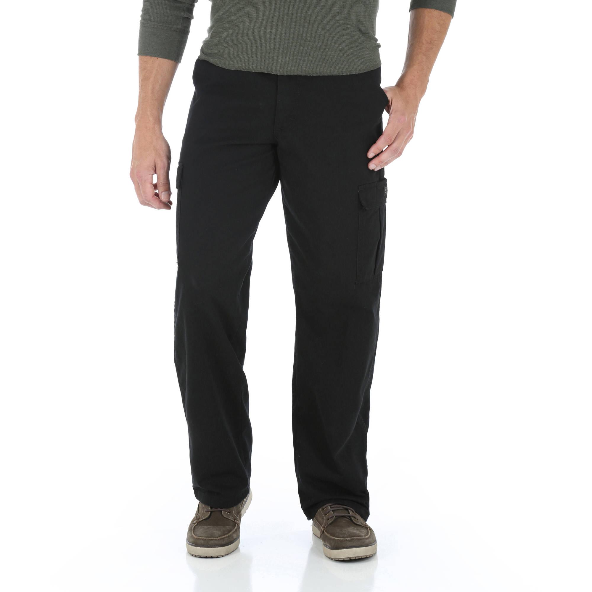 cargo jeans wrangler - menu0027s cargo pants or jeans, 2 pack - walmart.com brvqgzl
