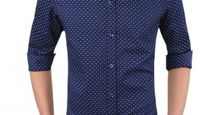 casual shirts for men romano menu0027s full sleeve casual blue shirt wqgvroh