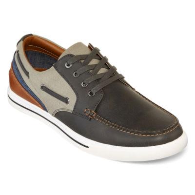 casual shoes j.ferrar somerset mens boat shoes exhhbnz
