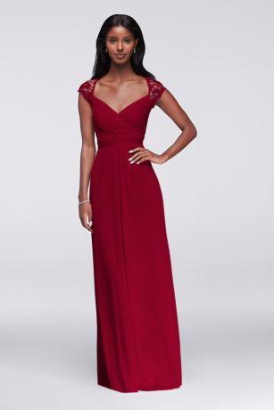 chiffon bridesmaid dresses long bridesmaid dresses youu0027ll love | davidu0027s bridal lgpelga