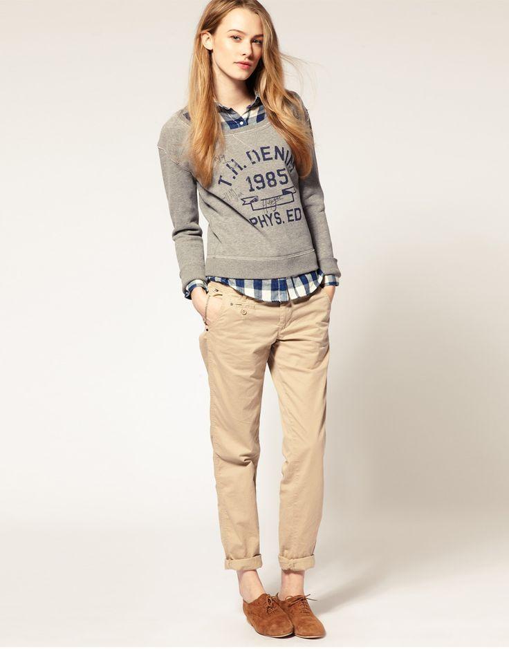 chinos for women si lo femenino no es tu estilo, estos outfits son lo que andabas wsehptm
