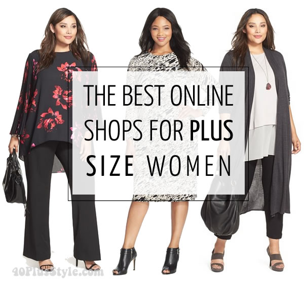clothes for plus size women the best online stores and brands for women over 40 | 40plusstyle.com fjcwrmc