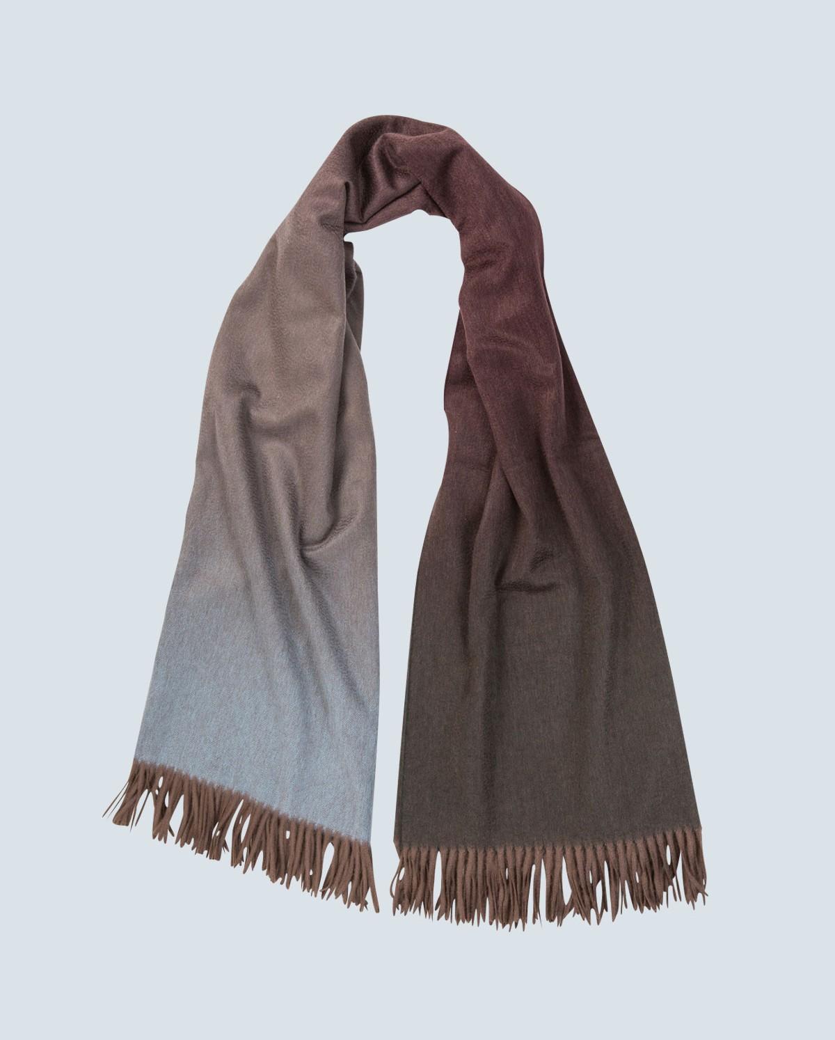 colour graded 100% cashmere scarf strata naqjwlx