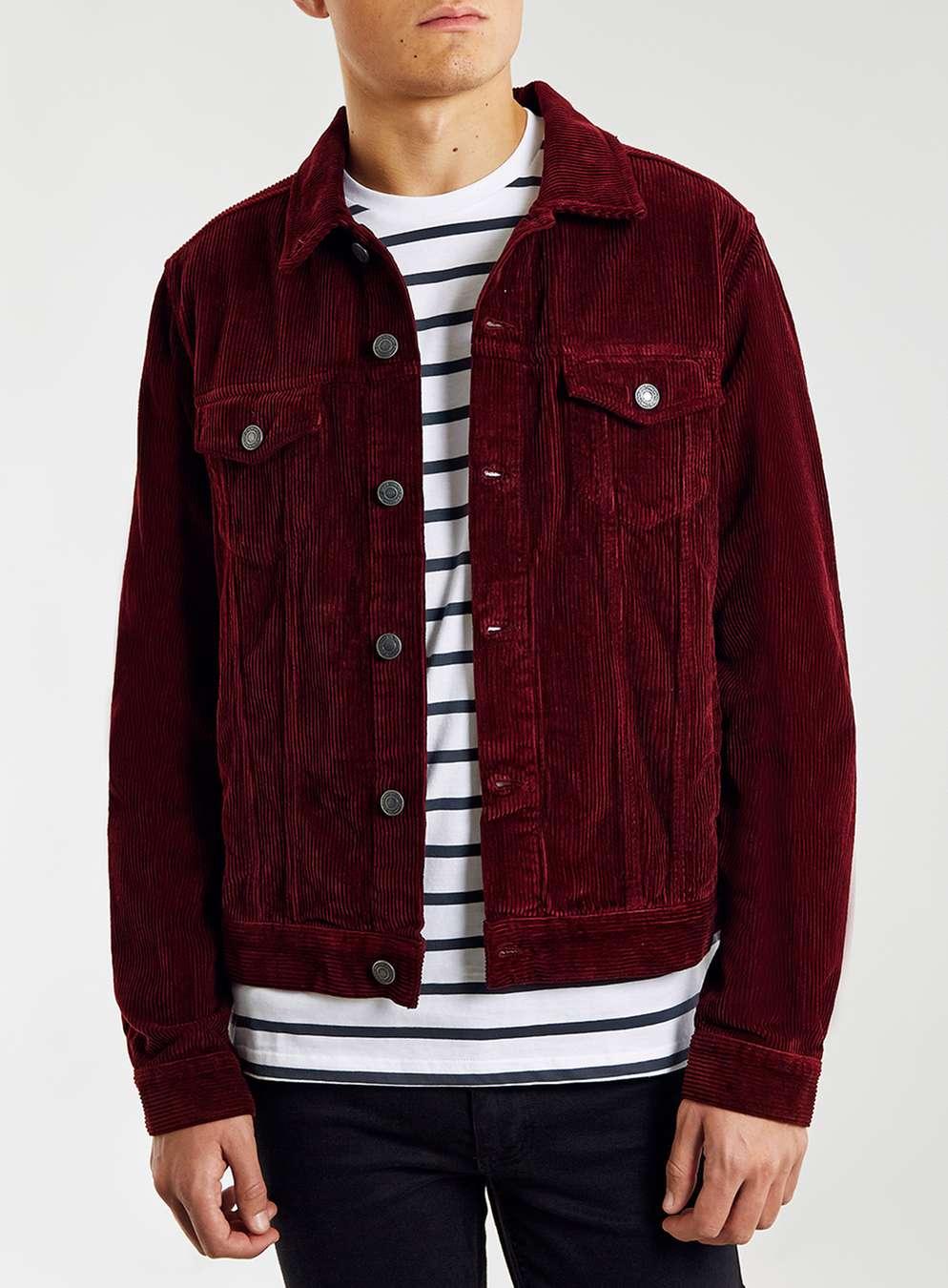 corduroy jacket red cord western jacket   topman rlzydin