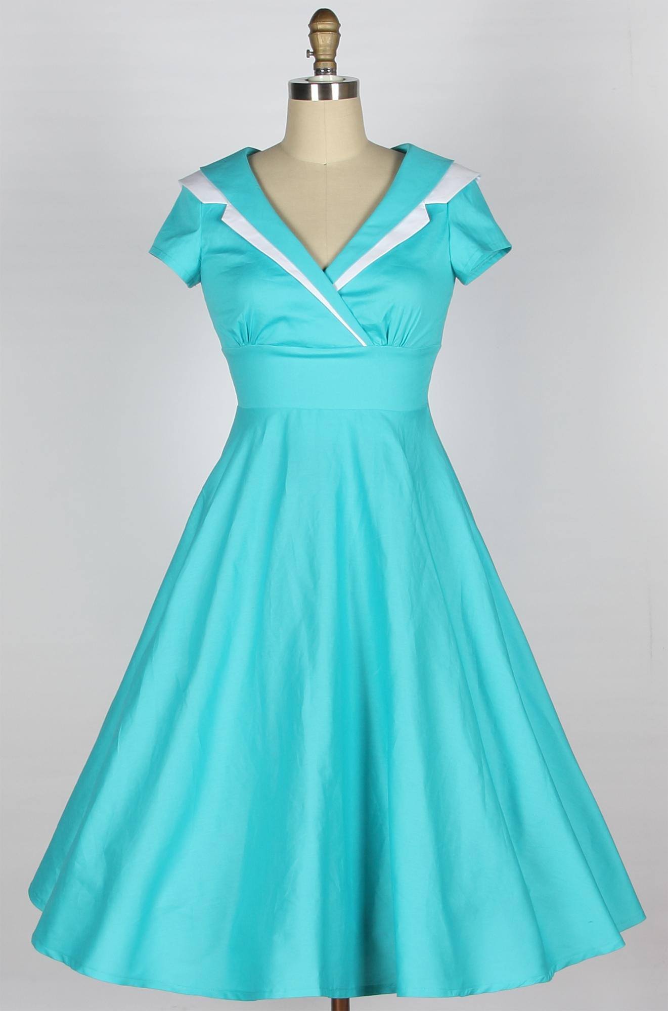 cotton dresses free dress patterns for women | home :: 1950s dresses :: 40s 50s jkxxkgb
