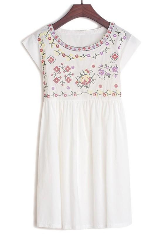 cotton dresses white plain belt sleeveless below knee cotton dress kqfoxsw