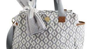 cute bags lindsay diaper bag in gray sqfdvip