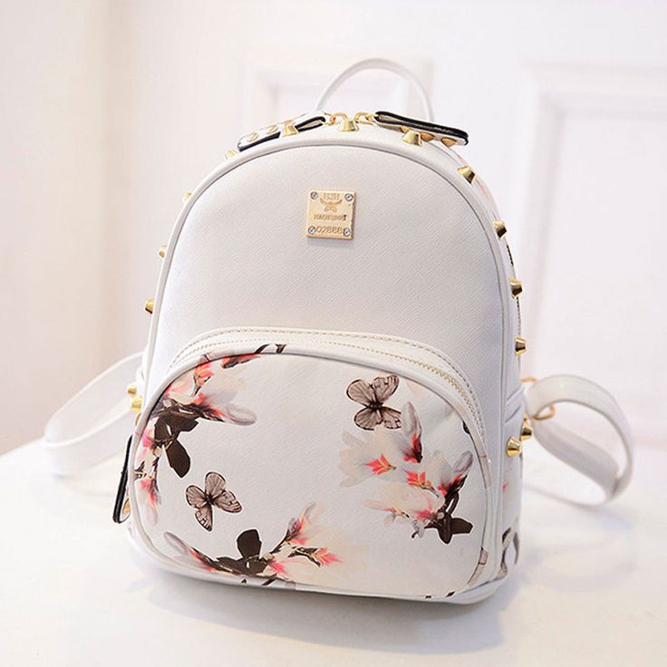 cute bags women backpack 2016 hot sale fashion causal high quality floral printing pu otjrqil