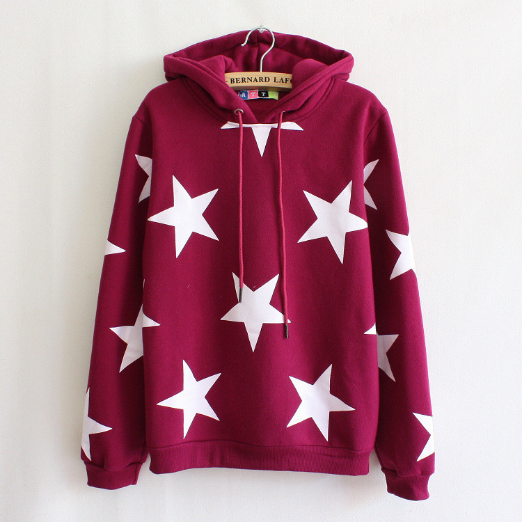 cute hoodies stars bhqcebn