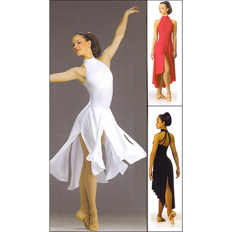 dance dresses multi panel dance dress wazolgo