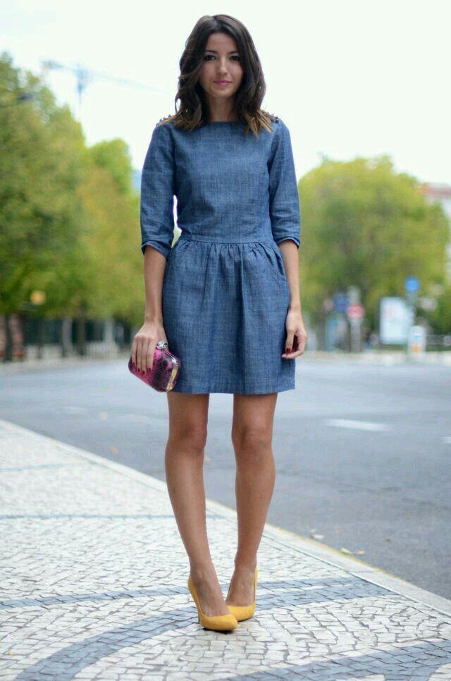 denim dress the look: denim desires nppbogy