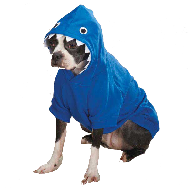 dog hoodies casual canine lilu0027 monster dog hoodie - blue with same day shipping | ispamjs
