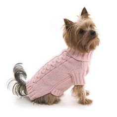 dog jumpers pink cable knit dog pullover gtycbpk