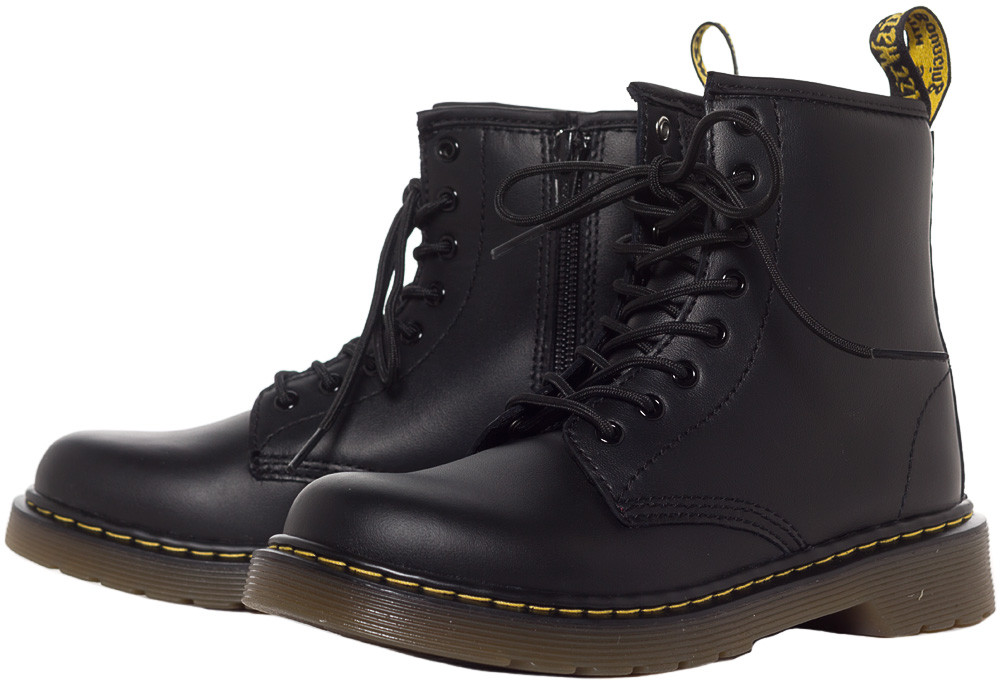 dr marten boots dr martens junior delaney boots black beyipzl