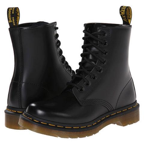 dr martens 1460 black leather combat boots qevnyuz