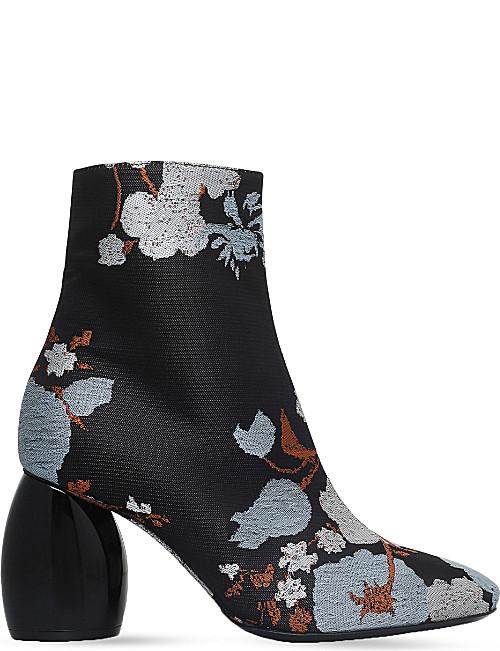 dries van noten shoes dries van noten jacquard ankle boots vdpgauy