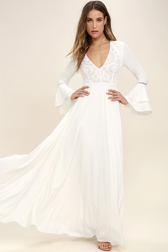 enchanted evening white lace maxi dress 1 bwhrtus