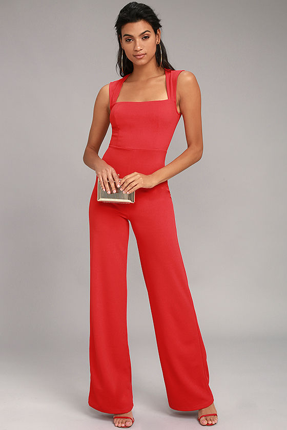enticing endeavors red jumpsuit 1 uxqlbwy