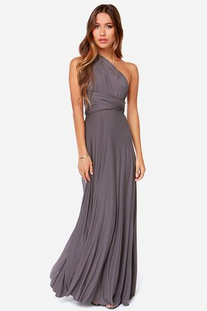 exclusive tricks of the trade dark grey maxi dress ocedrhh