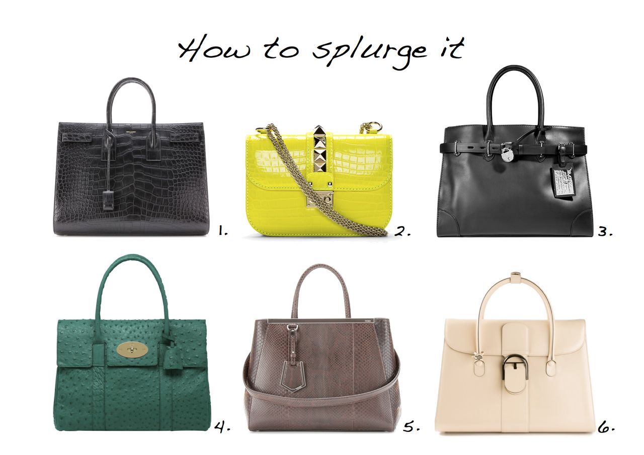 expensive handbags how to splurge it expensive bags yves saint laurent valentino ralph lauren fsetskh