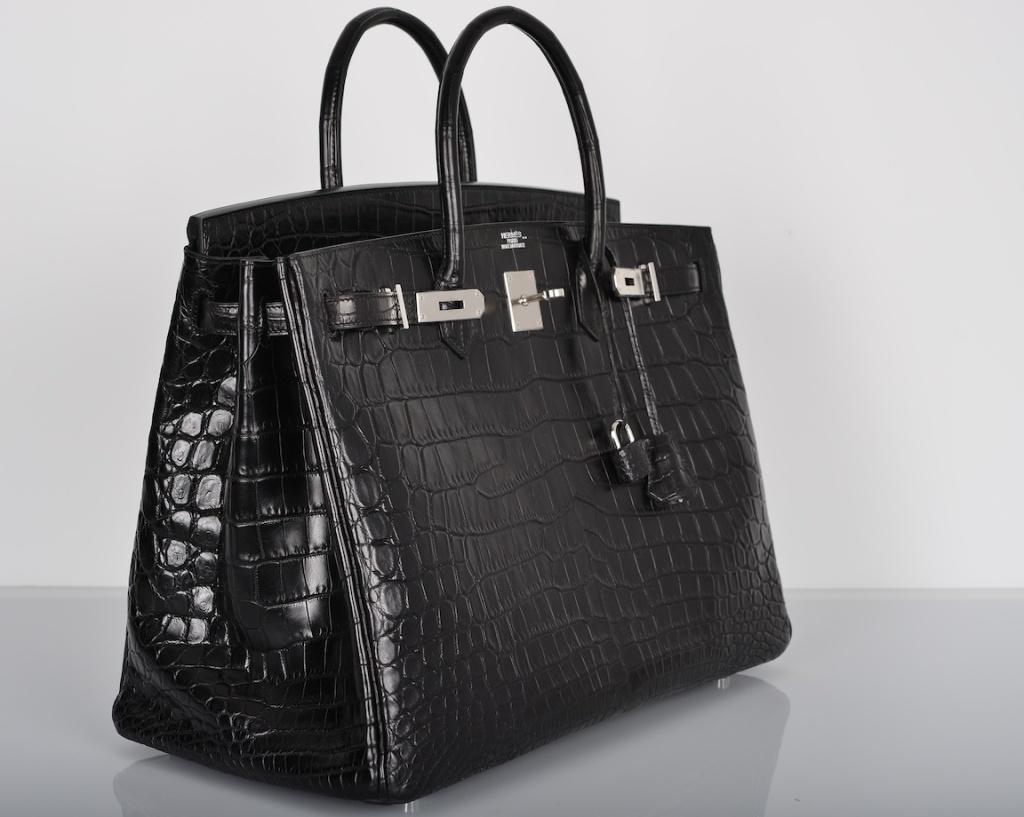 expensive handbags #6 hermes matte crocodile birkin bag - $120,000 nxpeybf