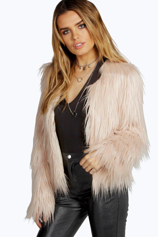 faux fur jacket amy faux fur crop jacket rzgfvix