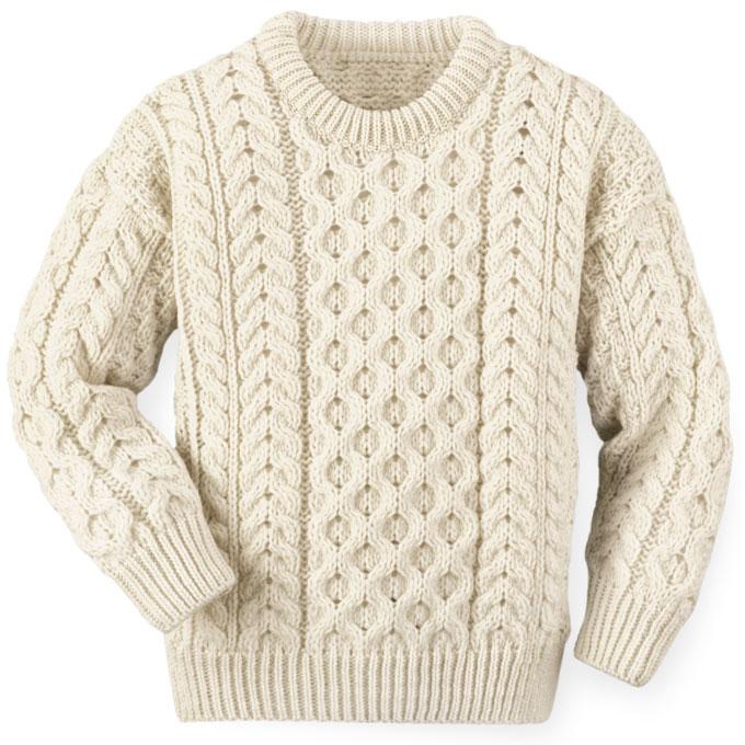 fisherman sweater kidu0027s irish knit fishermanu0027s knit sweater nfwawbi