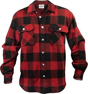 flannel shirts extra heavyweight brawny flannel shirt (small/red u0026 black) cfmenqb