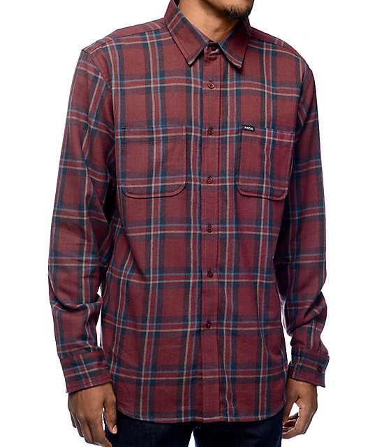 flannel shirts matix lincoln maroon flannel shirt vdwxfcs