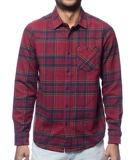 flannel shirts volcom 18 to life burgundy flannel shirt jgdhvry