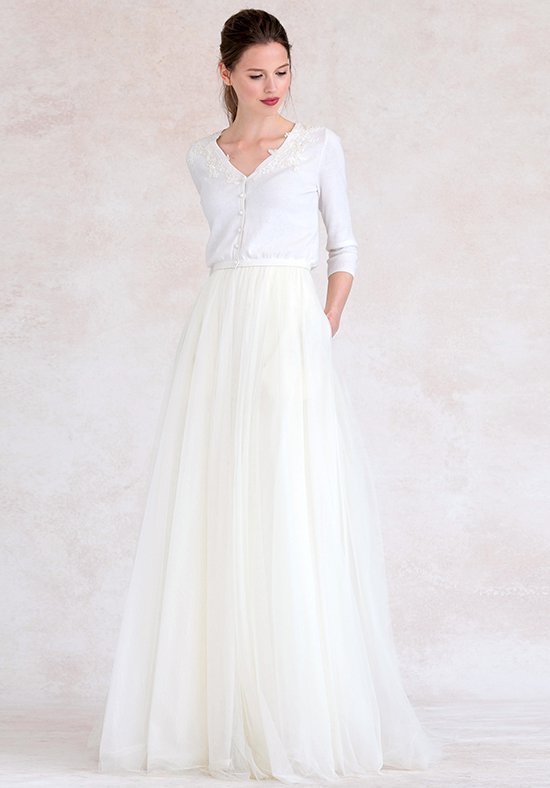 floor length dresses jenny yoo collection (maids) aubrey cardigan #sw2601 v-neck bridesmaid dress fuhkabv