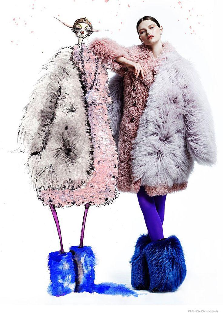 fur fashion kelly mittendorf doubles up in fur for fashion by chris nicholls vcbtiif