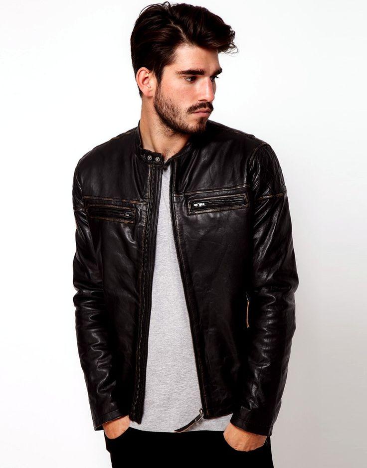 genuine men leather jacket, genuine men leather jacket suppliers and  manufacturers at wfivrga