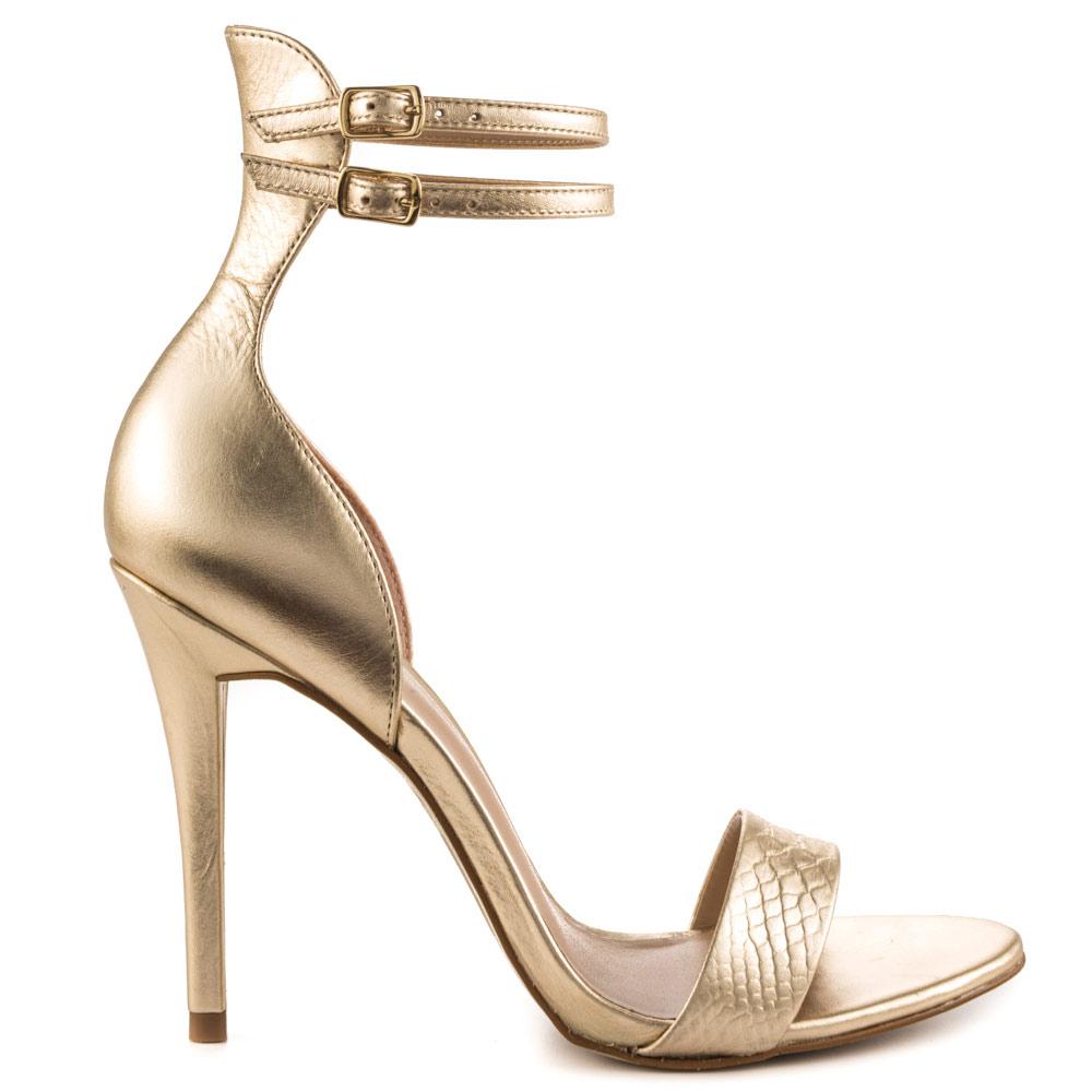 gold high heels aldo faine - gold cwqhpxs