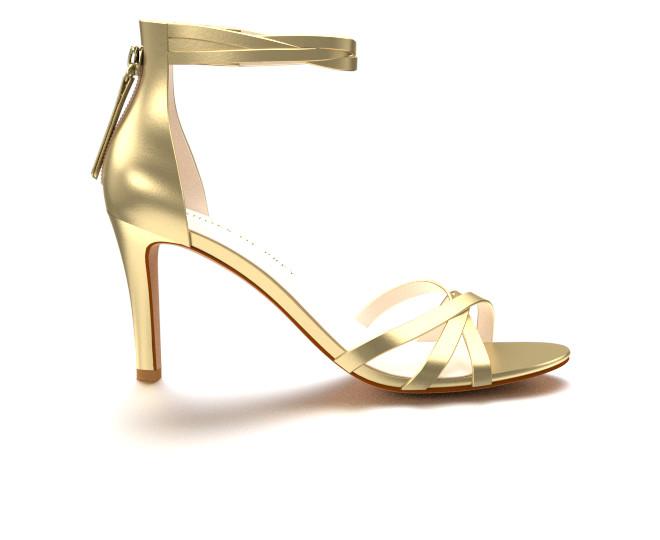 gold high heels elegant gold high-heeled evening sandals hpjsdgt
