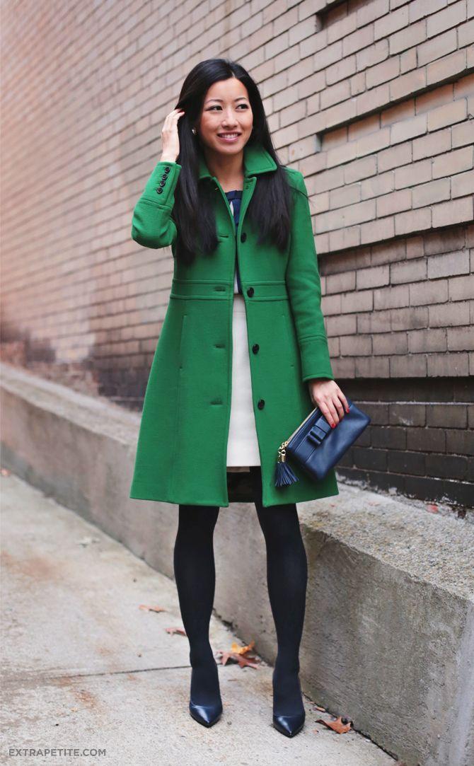 green coat extrapetite.com - green lady day coat and navy bows tjlluos