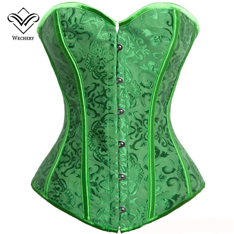 green corset yejflwo