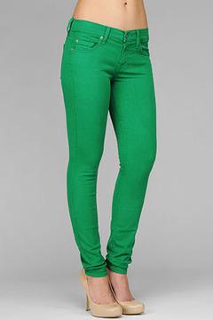 green skinny jeans draozro