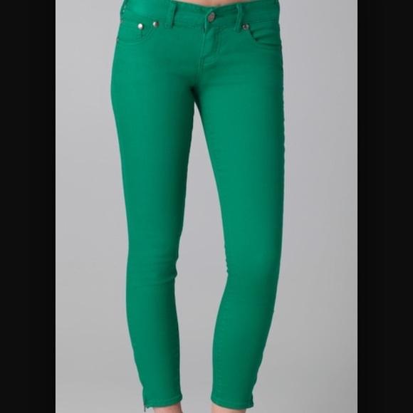 green skinny jeans free people green ankle zipper skinny jeans bjlrtfd