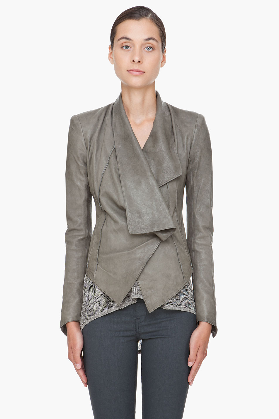 grey leather jacket gallery ncufucr