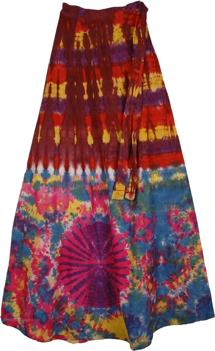 gypsy skirts buccaneer tie dye wrap gypsy skirt ... mkrjywg