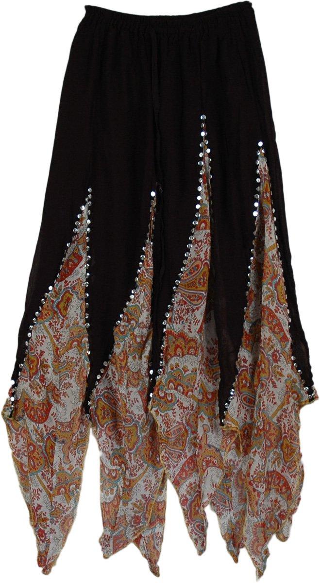 gypsy skirts crazy scallops gypsy skirt ... jbjdepx