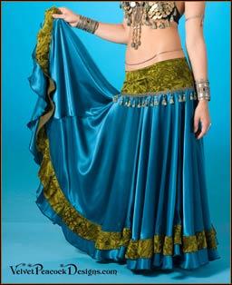 gypsy skirts - velvet peacock designs: tribal bellydance costumes, gypsy  bellydance costumes, hgflkfa
