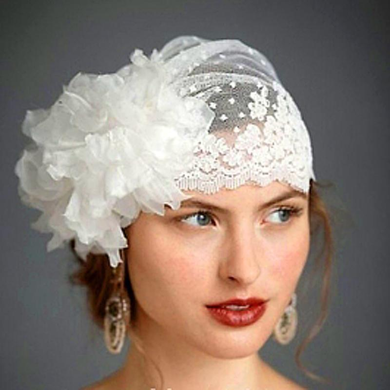 hats for weddings 2017 swiss dot tulle veil hat with handmade flower lace trimming vintage eswktrz